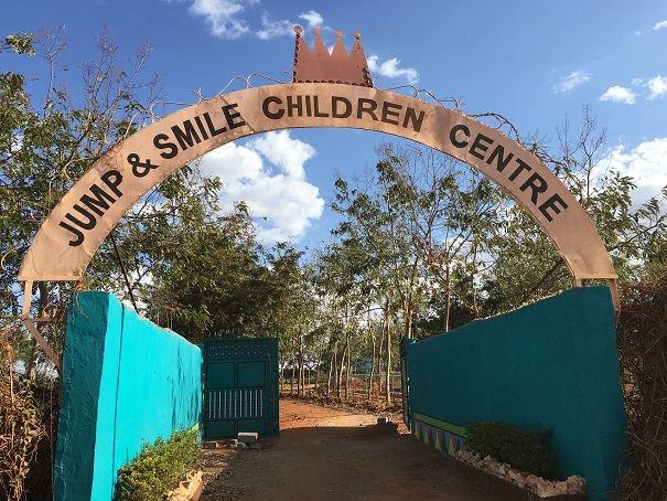 Jump & Smile Center is an AIDS orphan home