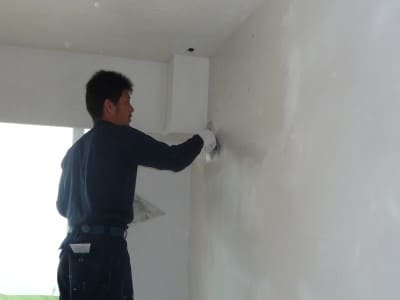 Finishing touch with EM Diatomite flat