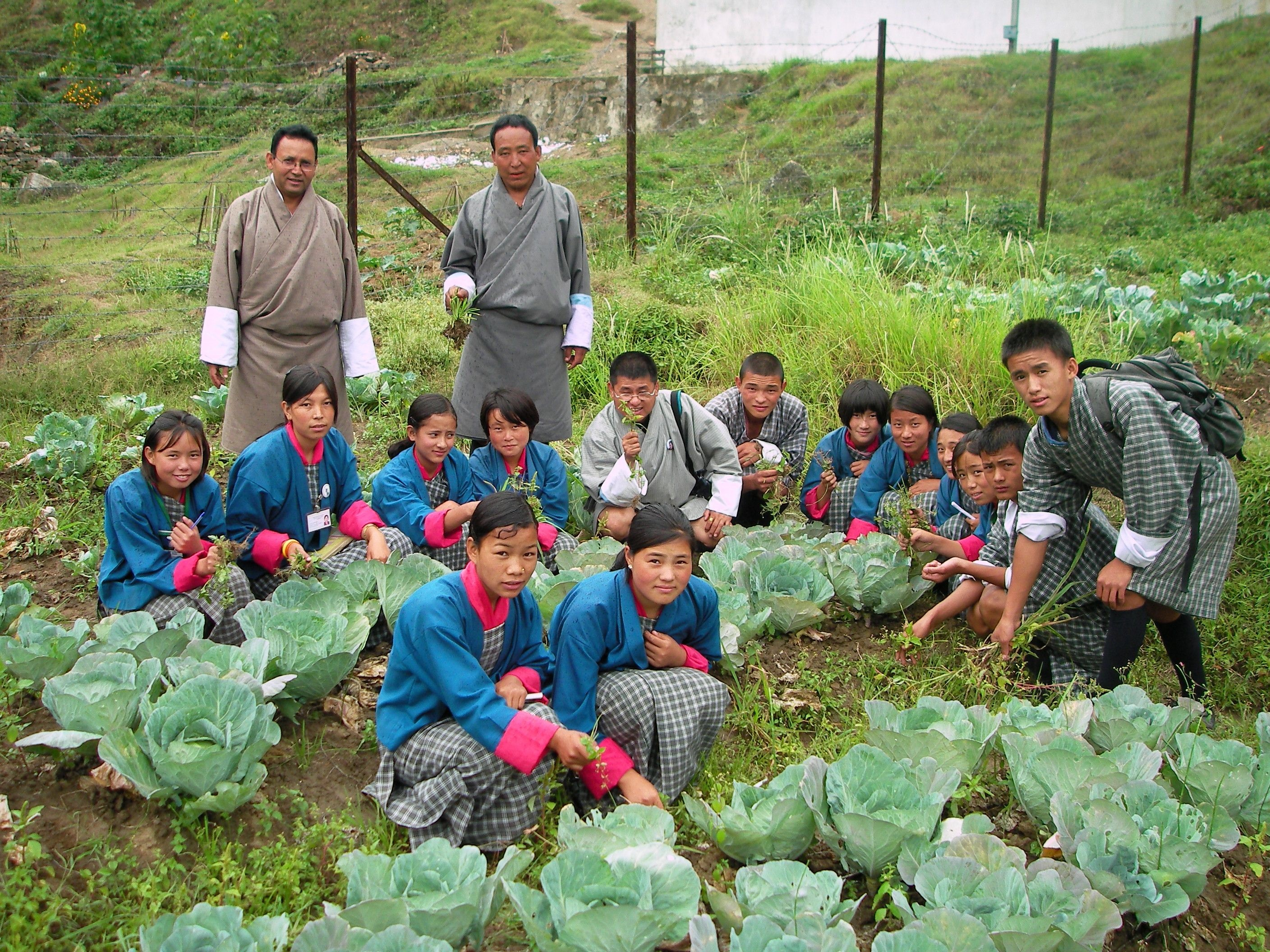 New video: Agriculture Program at School in Bhutan -sustainable farming with EM-