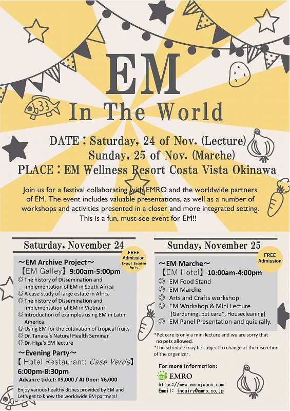 EM In The World - Information