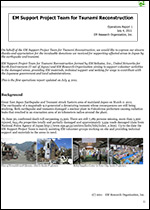 Japan Reconstruction Project Report